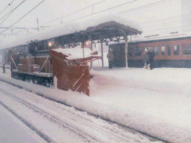 越後川口 1983年2月